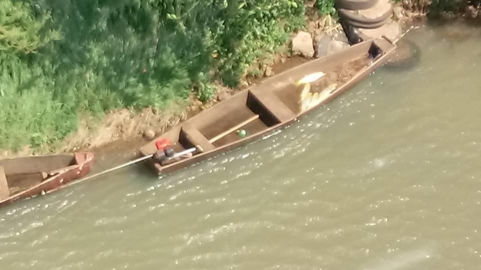 Polícia Ambiental apreende materiais de pesca irregular e procura pescador