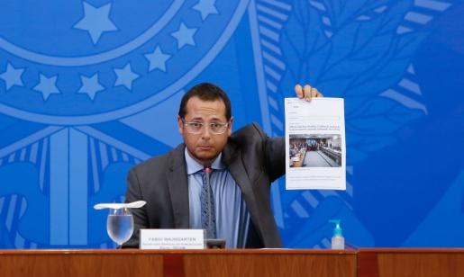 Governo não escolhe sites em publicidade oficial, diz Wajngarten