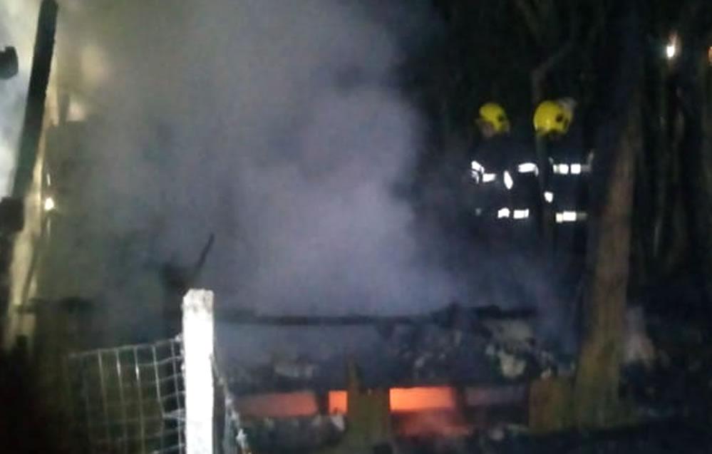 Homem que teve queimaduras durante incêndio morre no hospital