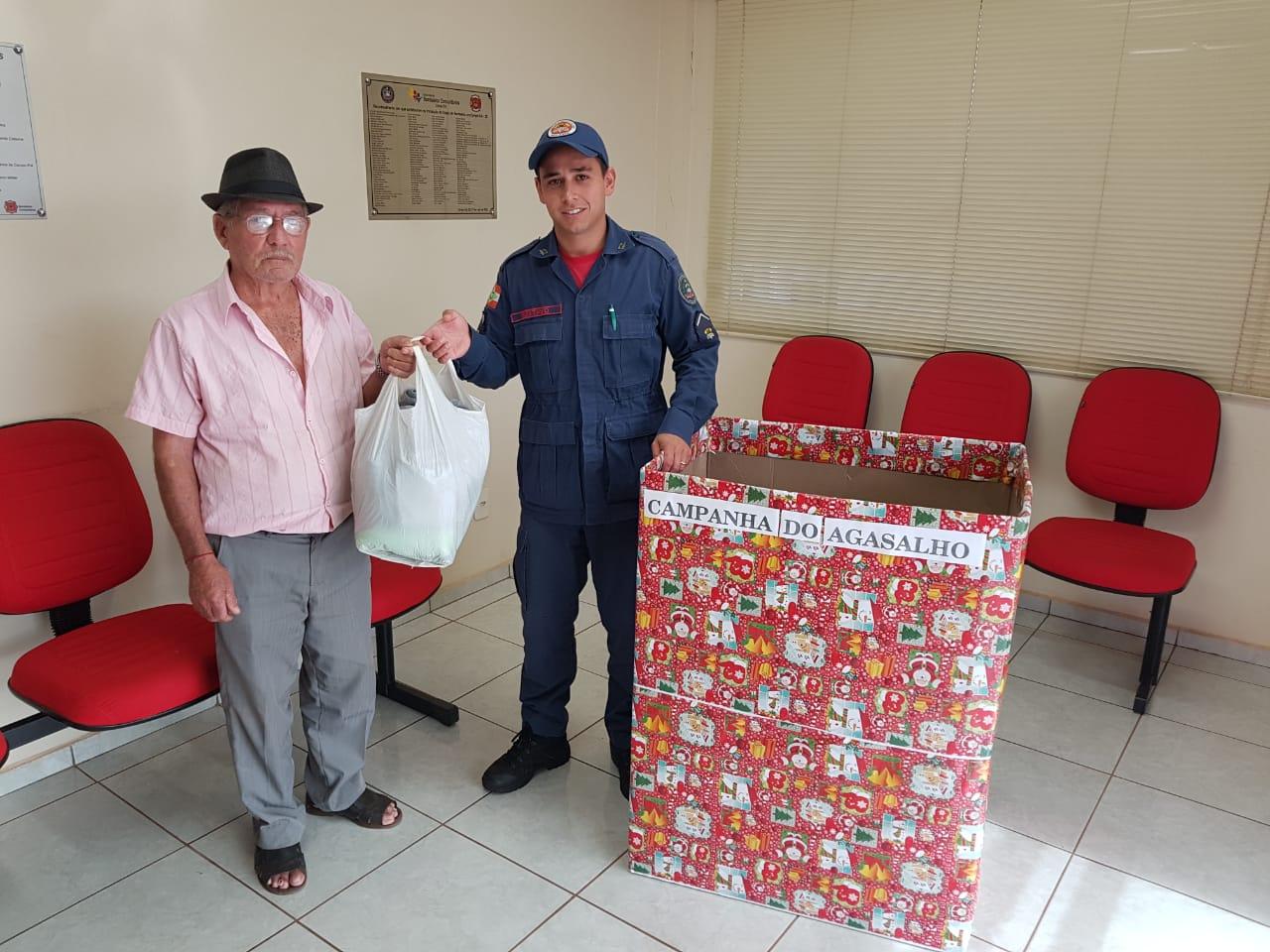 Campanha do agasalho do Corpo de Bombeiros segue até dia 22