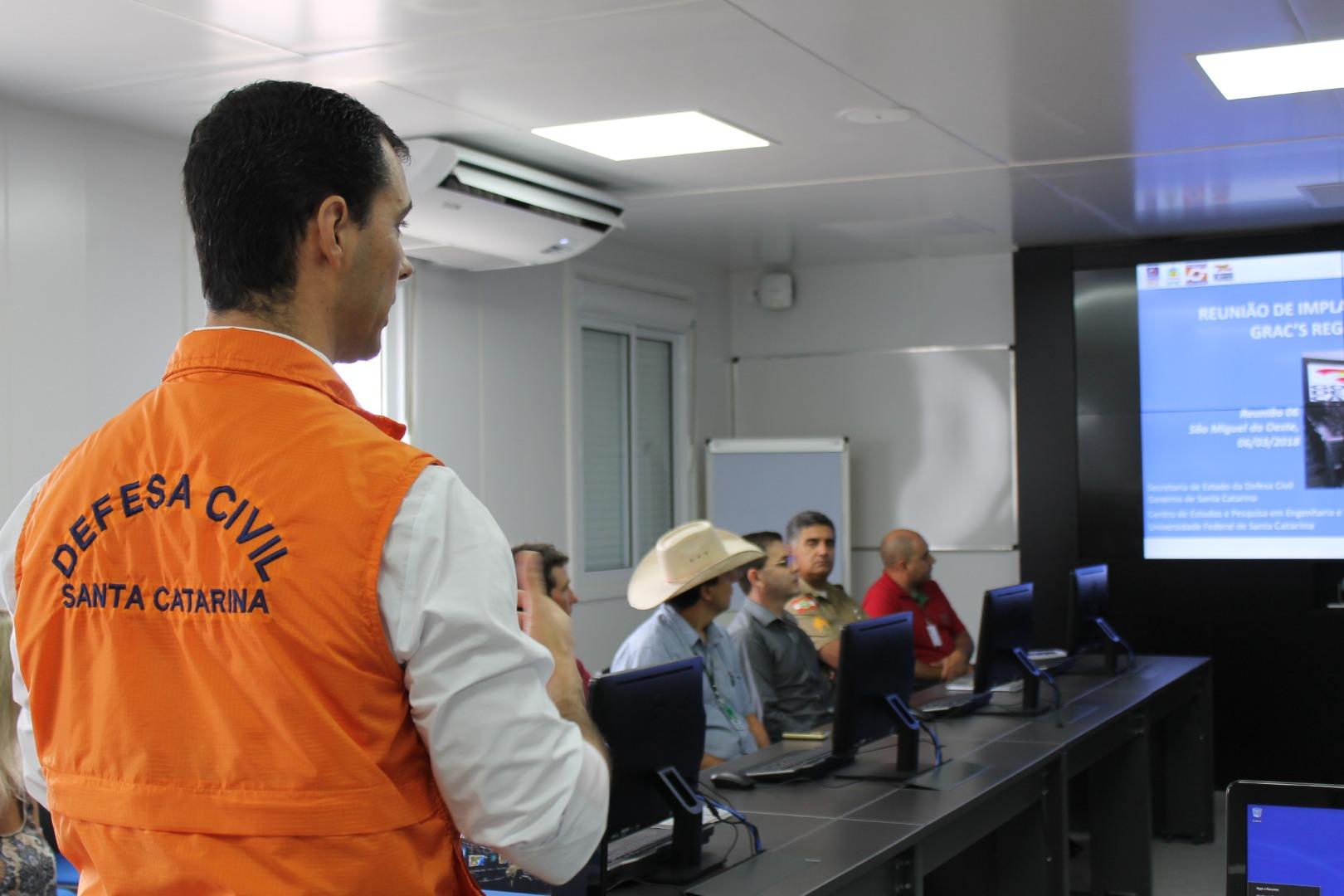 Defesa Civil implanta o Grupo de Ações Coordenadas em São Miguel do Oeste