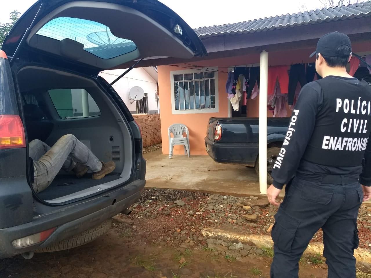 Operação Cronos contra feminicídio e homicídio realiza prisões no Extremo Oeste