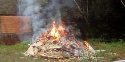Vigilância Sanitária de Descanso notifica responsáveis por queimadas no perímetro urbano