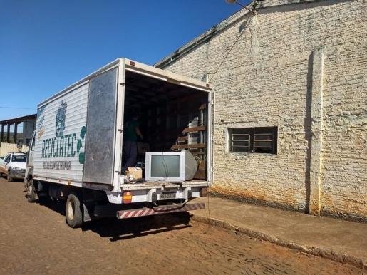 Prefeitura realiza a destinação correta de aproximadamente 300 kg de lixo eletrônico
