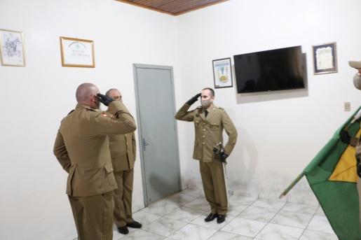 Polícia Militar de Dionísio Cerqueira tem novo comandante