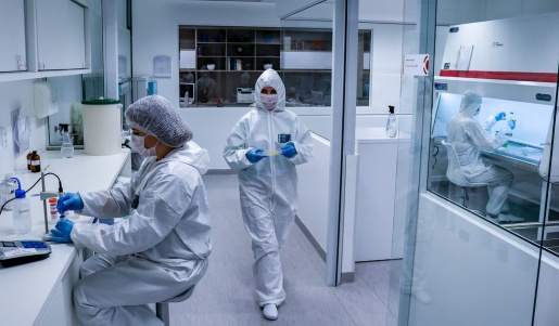 VÍDEO: Startup de SC vai produzir tecido pulmonar para testes de COVID-19