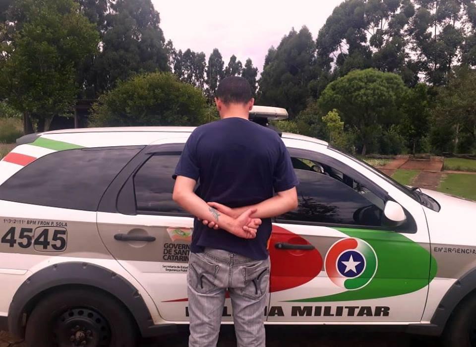Polícia Militar cumpre mandado de prisão em Palma Sola