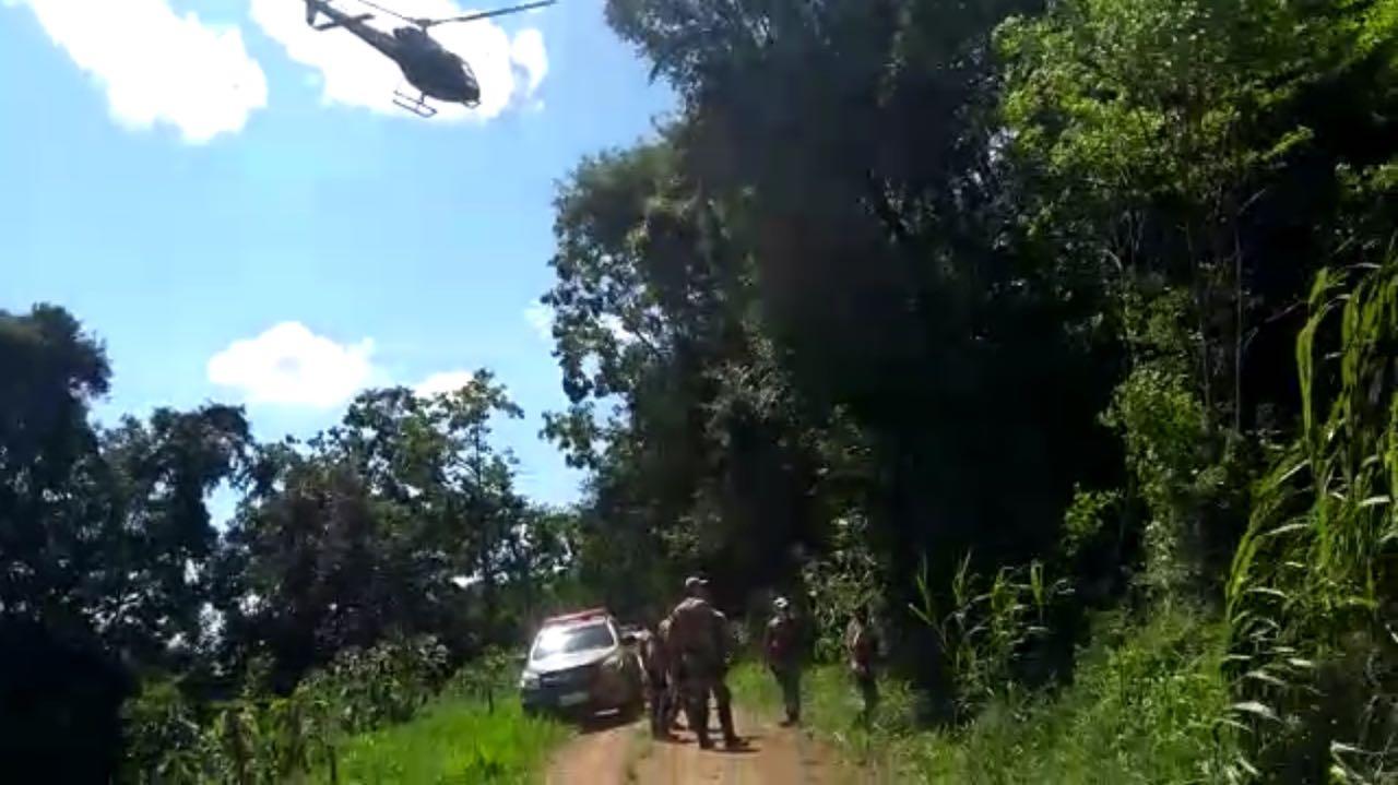 Assalto em empresa a margem da BR-282 mobiliza grande efetivo policial Xaxim