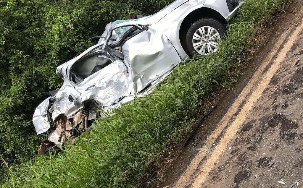 Jovem de São Miguel do Oeste morre em acidente entre carro e caminhão na 282