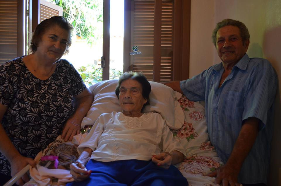 Pioneira de Guaraciaba comemora 100 anos de vida