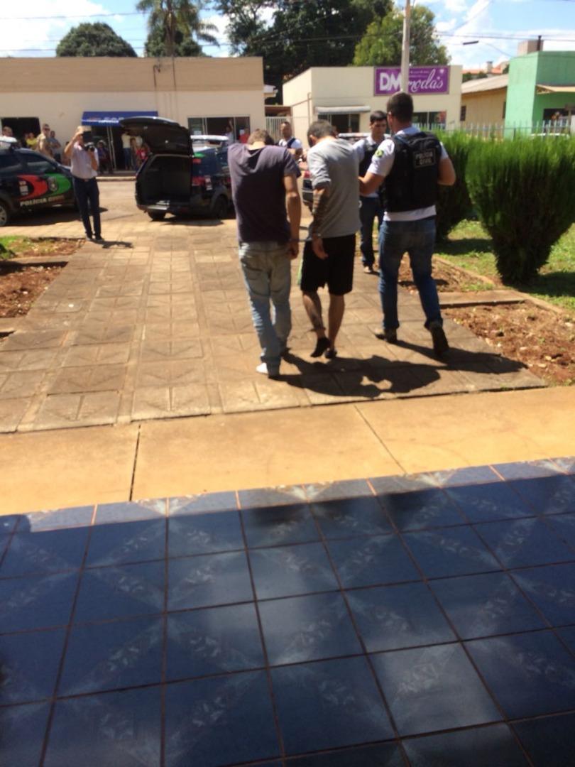 VÍDEO: Quadrilha presa em Campo Erê é transferida para Xanxerê