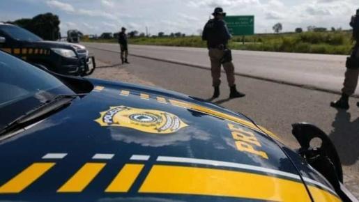 PRF flagra diversas infrações de trânsito no segundo final de semana de 2020