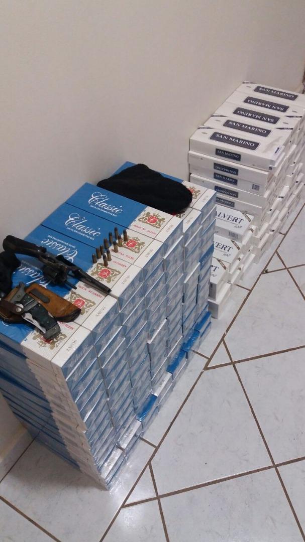 Homem é preso porte ilegal e munição de uso restrito