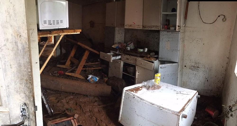 FOTOS: enchentes atingem 3 vezes cidade do Oeste de SC