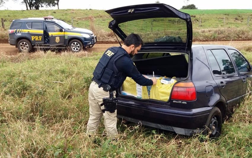 Homem é preso com cigarros contrabandeados em Guaraciaba