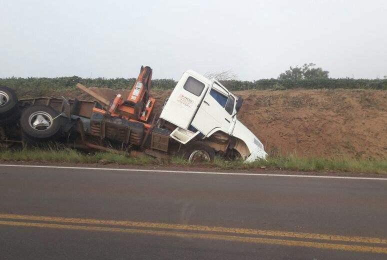 Caminhoneiro de São José do Cedro se recupera após grave acidente no RS