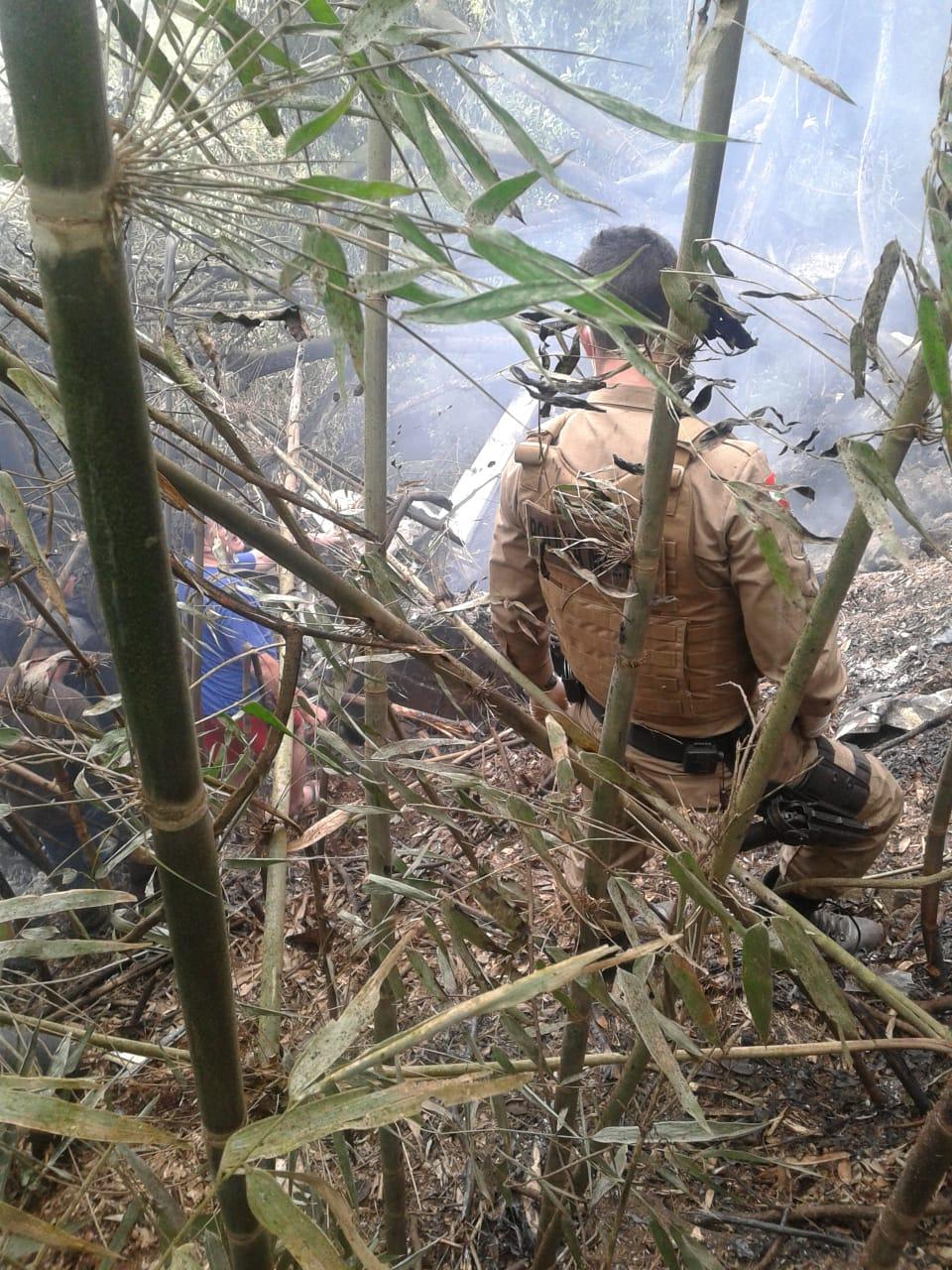 Queda de avião deixa pelo menos um morto no Oeste Catarinense