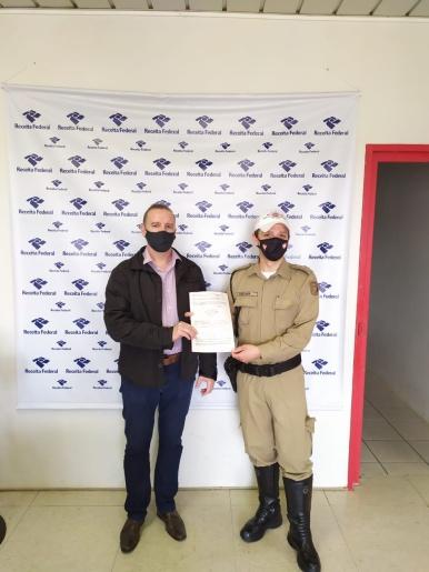 Polícia Militar Rodoviária recebe equipamentos doados pela Receita Federal