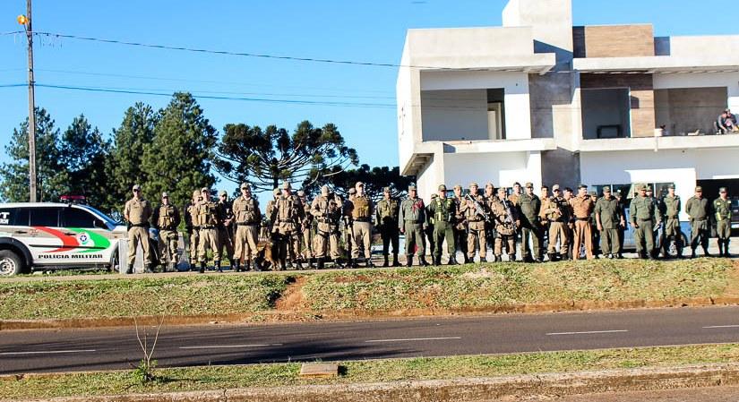 Tri-fronteira recebe operação integrada das forças de segurança