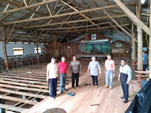 CTG Portão do Oeste de Itapiranga investe em reformas e nova pista de danças