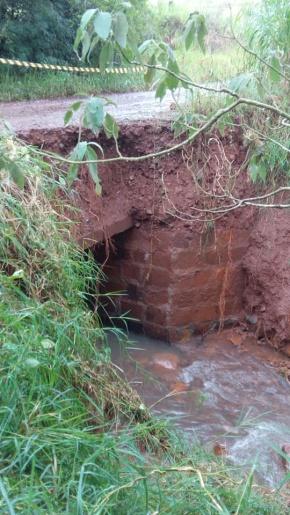 Chuvas provocam estragos nas estradas do interior de Princesa
