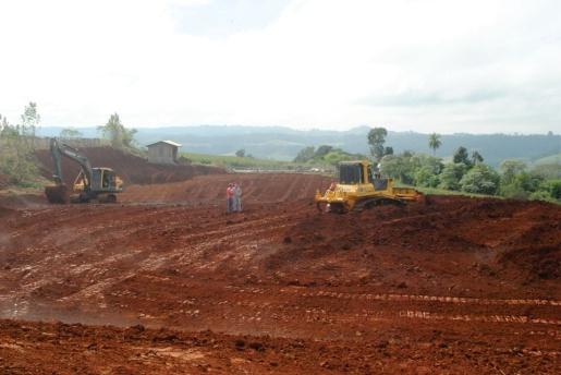 Município de Itapiranga presta apoio na instalação da usina de biodigestores