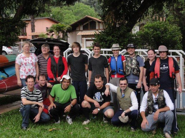 Grupo de caiaqueiros organiza mais uma edição da aventura no Rio Uruguai