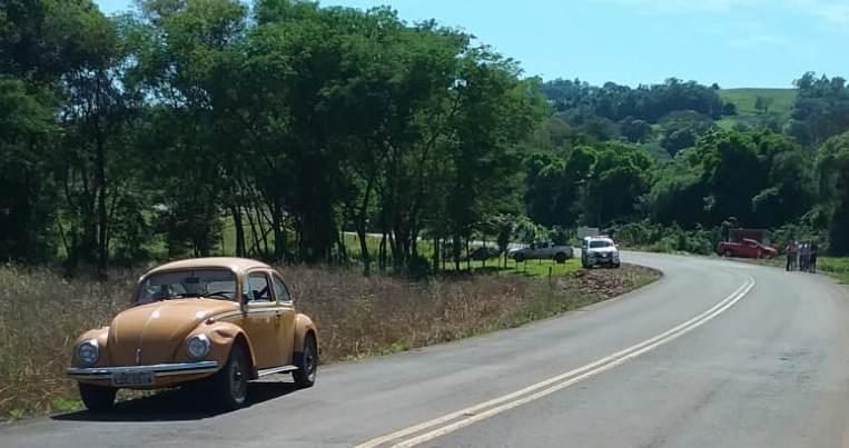 Mulher fica ferida ao ser atropelada por motorista embriagado em São José do Cedro