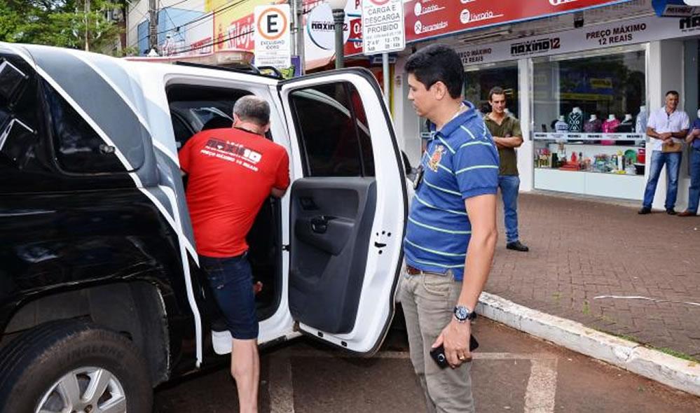 Ex-vereador de Guarujá do Sul é preso suspeito de vender mercadorias roubadas no PR