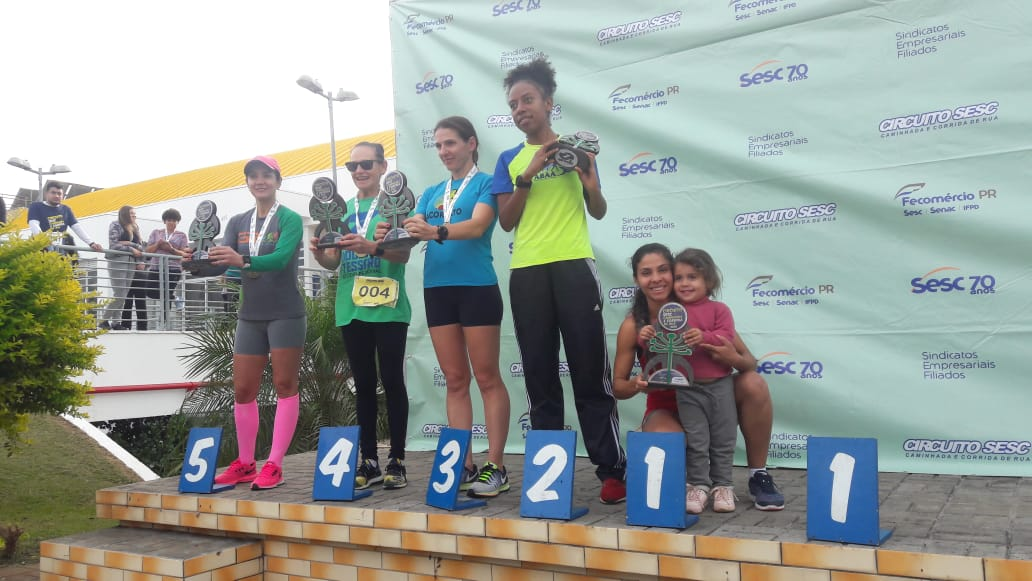 Atleta de Campo Erê leva primeiro lugar na corrida do Circuito Sesc