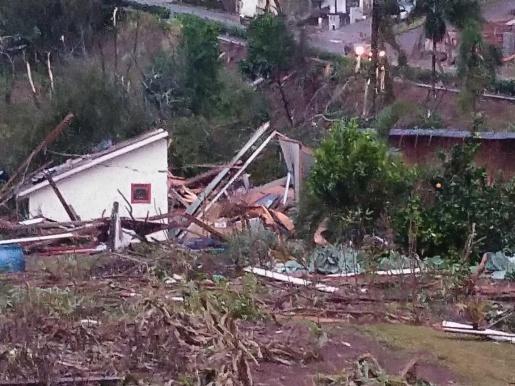 VÍDEO: Imagens mostram destruição em Descanso e Belmonte