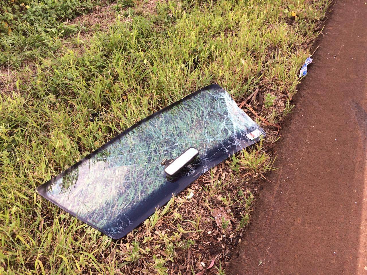 Veículo capota na SC 305, motorista é detido por embriaguez