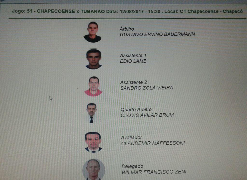 Campoerense vem se destacado em arbitragem na Região