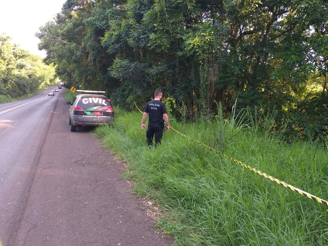 Polícia Civil encontra corpo de caminhoneiro desaparecido