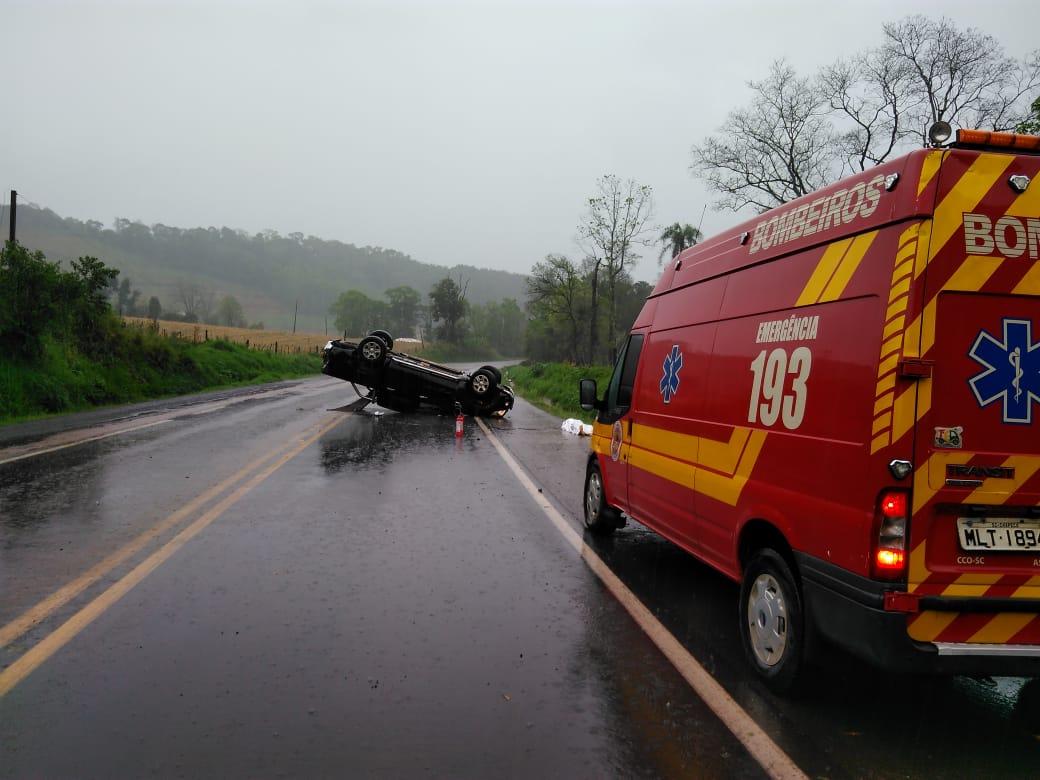 ATUALIZADA: Ciclista morre atropelado na BR 158 em Caibi