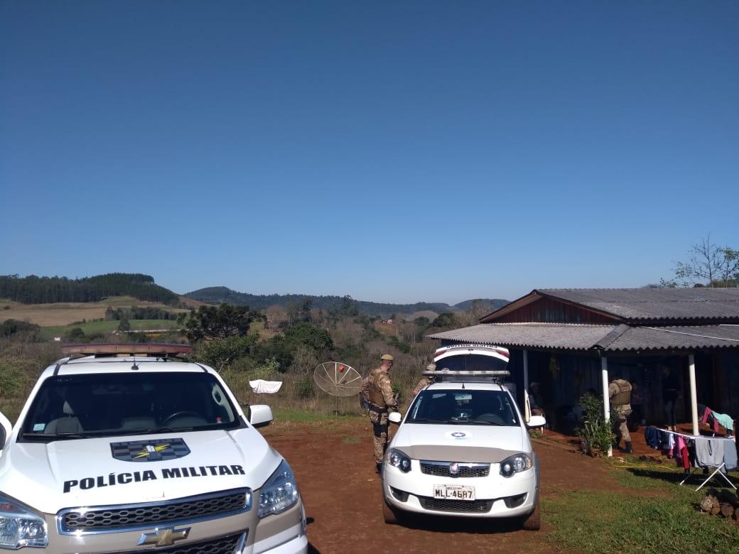 PM recaptura homicida foragido da cadeia de São José do Cedro