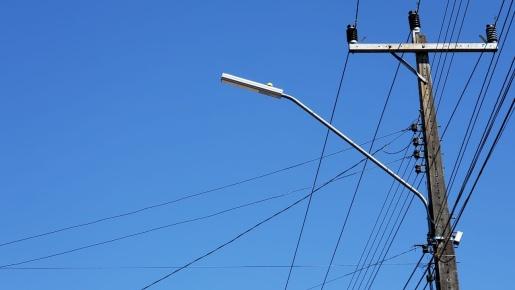 Prefeitura de Mondaí realiza 3ª etapa de instalação das lâmpadas de LED