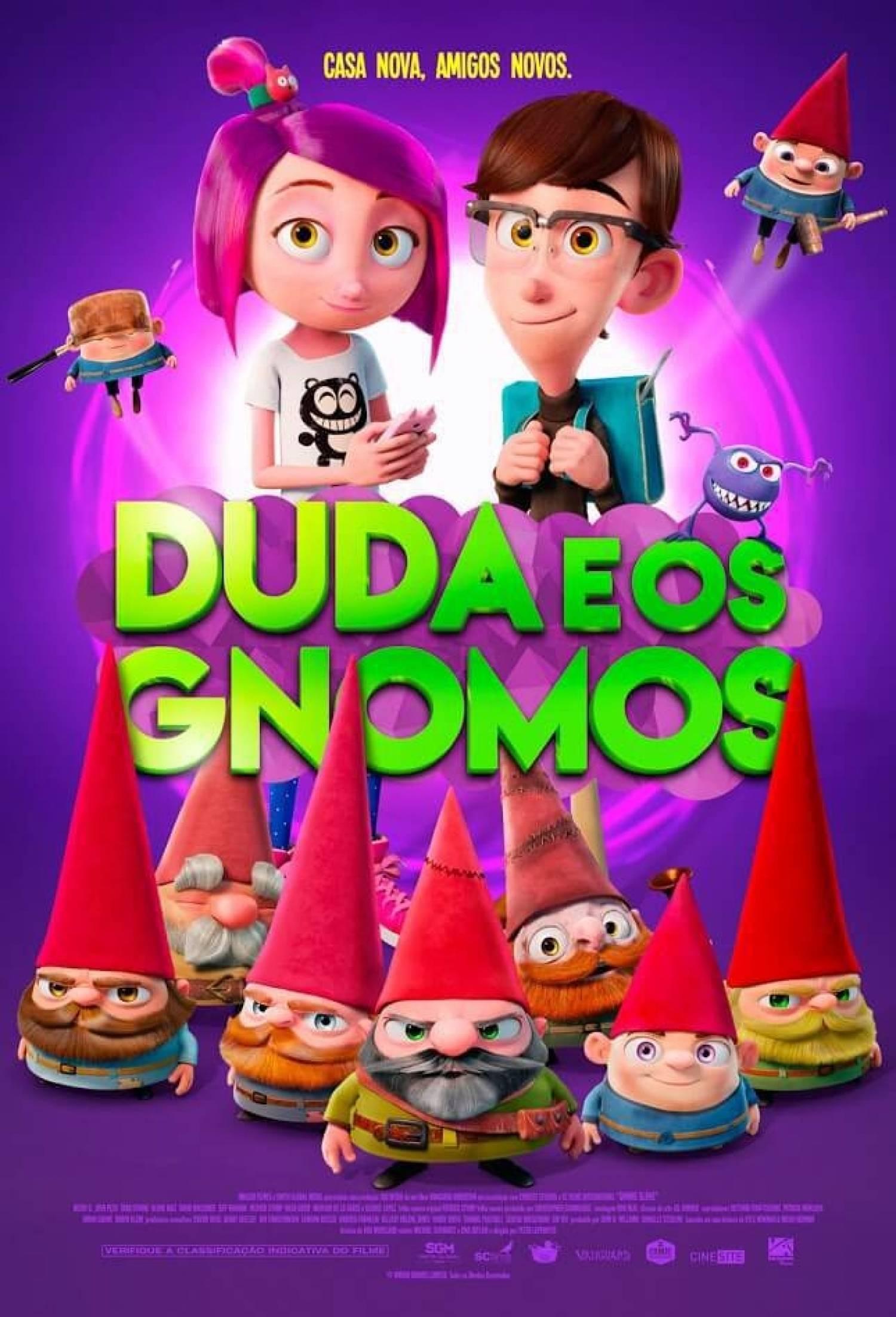 Duda e Os Gnomos - 3D   10/03/18