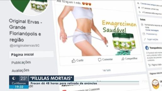 Procon catarinense determina retirada de anúncios de falsos emagrecedores da internet
