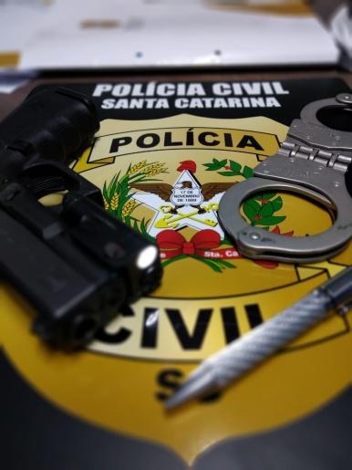 Polícia Civil de Riqueza prende homem condenado por crime de receptação