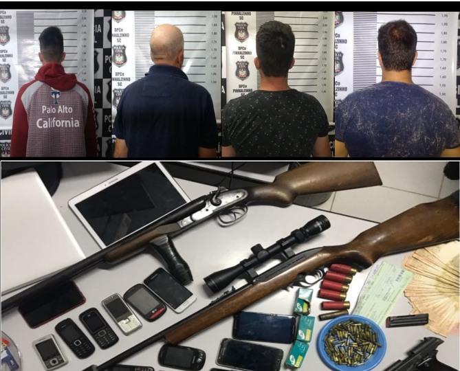 Polícia Civil prende vereador e irmão investigados por tráfico de drogas