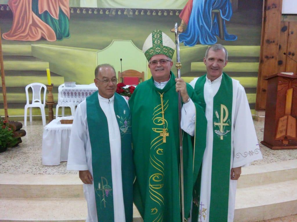 Missa marca transferência de padre para outra Paróquia