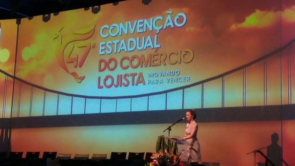 Empresários do município participam de convenção na capital