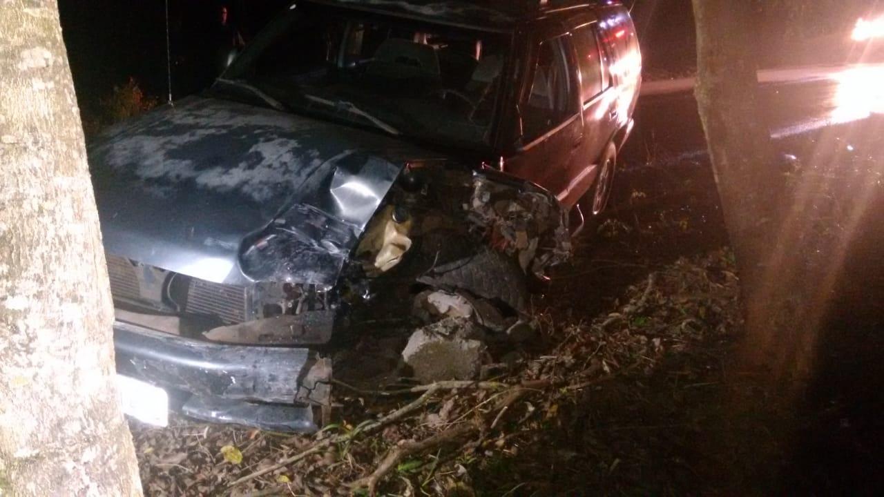 Motorista é preso após acidente no interior de Itapiranga