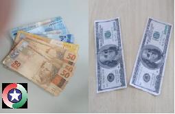 Mexicanos são flagrados tentando passar notas falsas no comércio