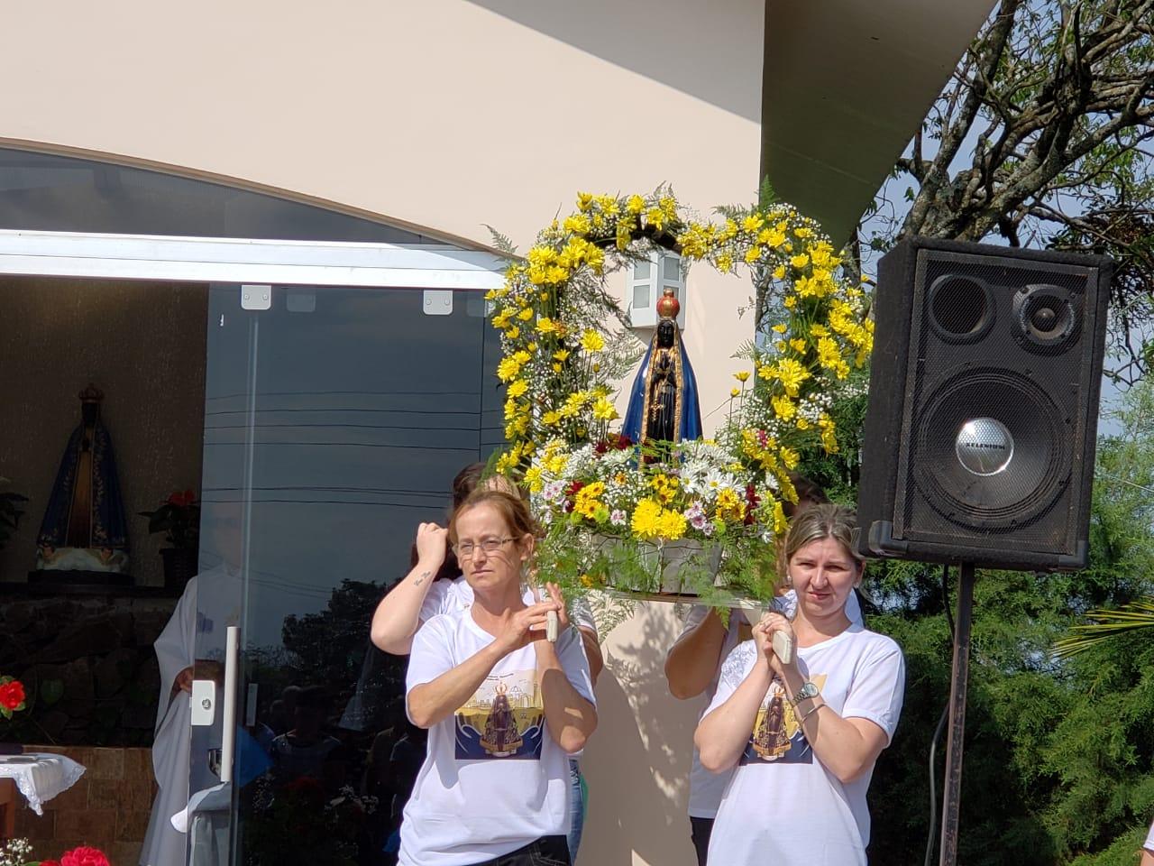 Comunidade de Iporã do Oeste promove 10ª Romaria de Nossa Senhora Aparecida