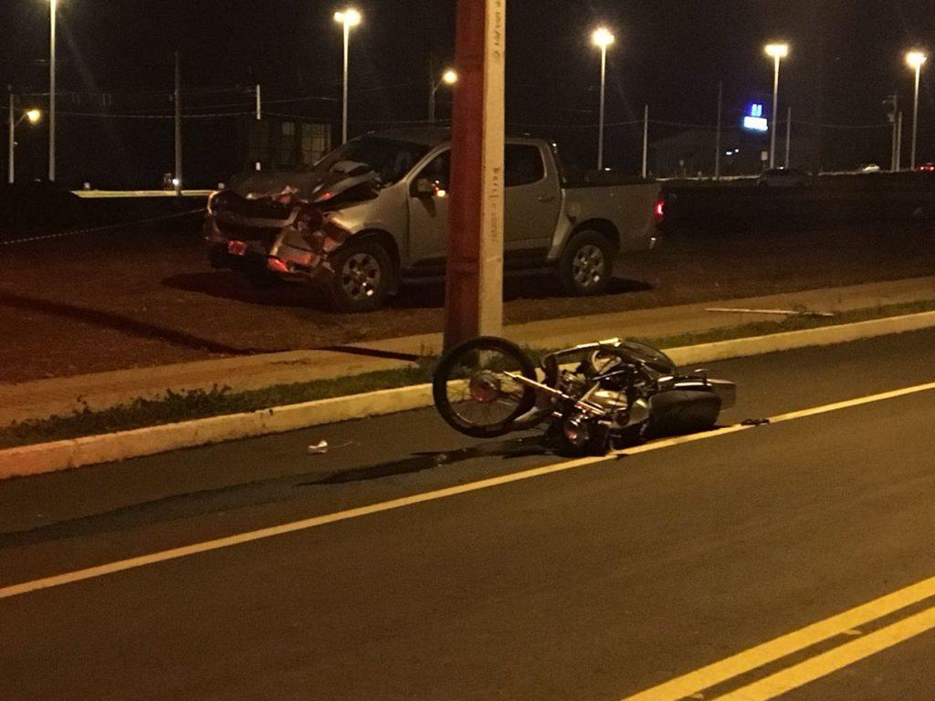 Motociclista morre em acidente em Chapecó