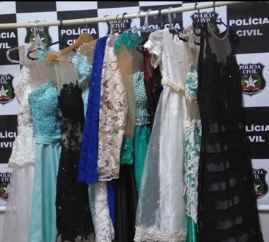 Vestidos furtados em boutique de Guaraciaba são recuperados pela polícia
