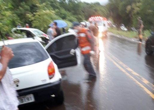 Gestante perde a filha em grave acidente na SC-155