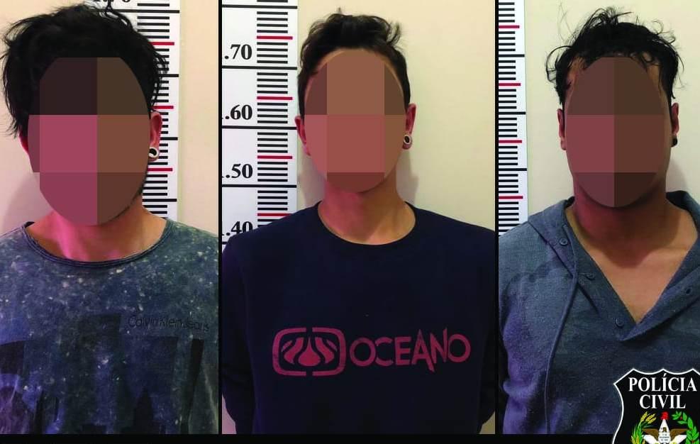 Responsáveis por roubos na região são presos